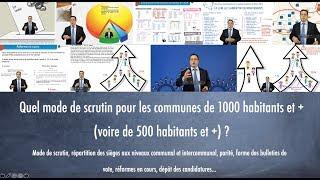 Communes De 1000  Ou 500 ?  Hab. Et + : Quel Mode De Scrutin ?