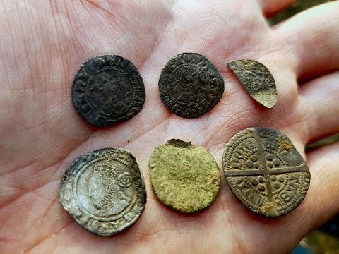 5 silvers metal detecting hunt