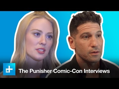 We chat with the new Punisher, Jon Bernthal, and Deborah Ann Woll at San Diego ComicCon