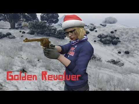 GTA Online: Secret Golden Revolver - Treasure Hunt (Red Dead Redemption 2)