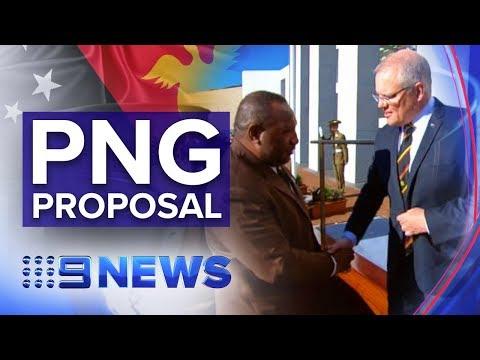 PNG Asks Australia For $300m Budget Boost | Nine News Australia