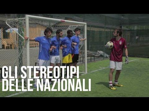 Gli stereotipi delle squadre nazionali