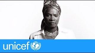 Angélique Kidjo sings John Lennon's IMAGINE | UNICEF