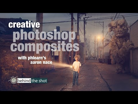 Creative Photoshop Composites with Phlearn's Aaron Nace