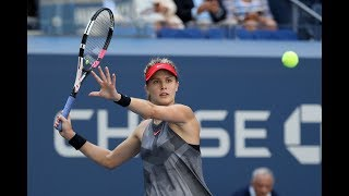 2017 US Open: Eugenie Bouchard R1 press conference