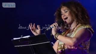 بالفيديو : غالية بن علي تحيي مهرجان الموسيقى و الغناء الخامس و العشرون بمحكي القلعة