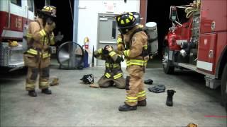 (HD) Firefighter Quick Dress Round 2