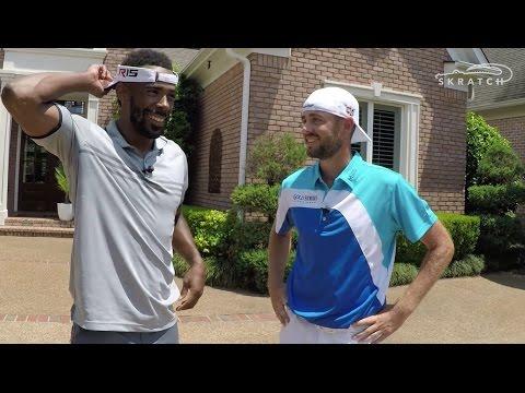 Troy Merritt beats Mike Conley Jr. in golf AND basketball