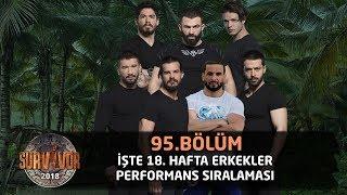 Survivor 2018 | 18. Hafta Erkekler Performans Sıralaması
