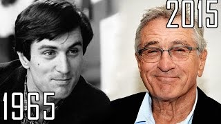 Robert De Niro (1965-2015) all movies list from 1965! How much has changed? Before and Now!