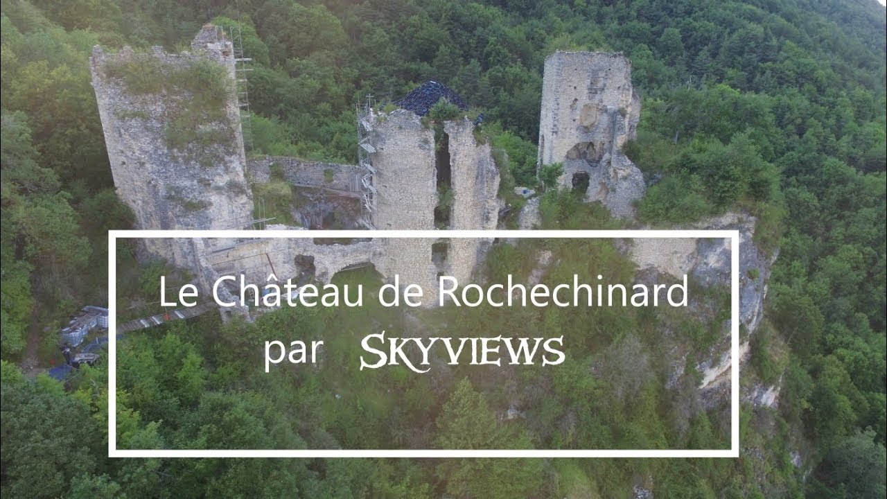 Le Château de Rochechinard par Skyviews