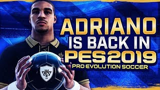 CRAZY 99 SHOT POWER ADRIANO IS BACK ON PES!!!
