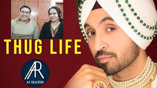 Pakistani react on Diljit Dosanjh : THUG LIFE |FAMOUS STUDIOS | AA reactions