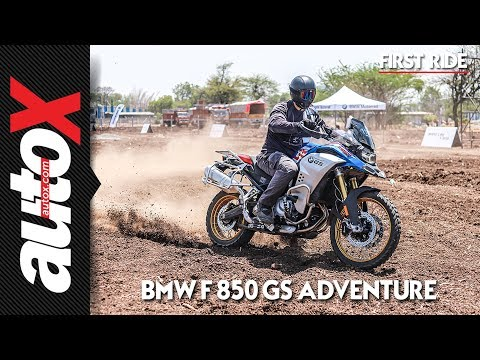 2019 BMW F 850 GS Adventure Review   First Ride   autoX