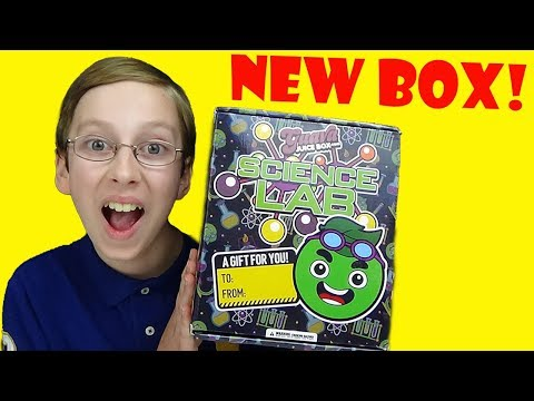 *NEW* GUAVA JUICE BOX Science Lab Kit! (Unboxing) | COLLINTV