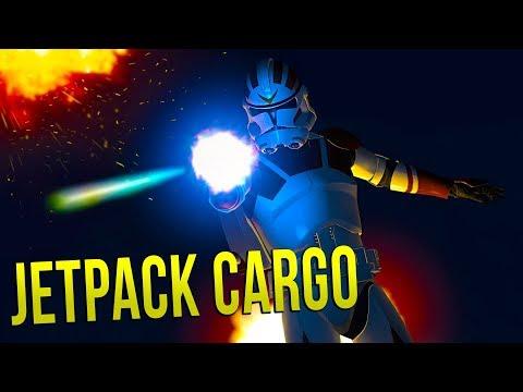 JET PACK CARGO - STAR WARS Battlefront 2 - New Gamemode!