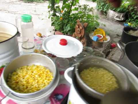 консервация молодой  кукурузы в автоклаве соли  меньше 1.2 л