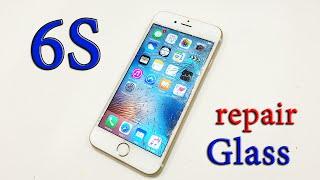 Ремонт iphone 6s замена стекла - iphone 6s pepair glass(Ремонт iphone 6s замена стекла - iphone 6s pepair glass. В этом видео мы будем менять стекло на айфоне 6s при помощи OCA пленки..., 2015-12-21T18:54:28.000Z)