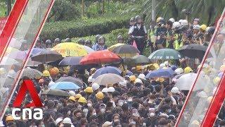 Hong Kong leader assures investors city can rebound from unrest
