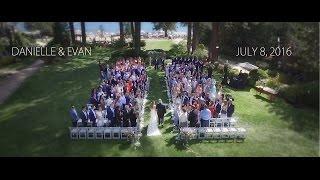 Danielle & Evan's Wedding Film || Hyatt Regency Lake Tahoe