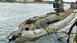 Заброшенная подводная лодка submarine boat(подводнаялодка https://youtu.be/2v8BWF_WQ_M., 2015-11-29T10:07:32.000Z)