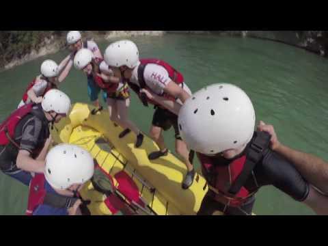 Slovenia 2014 - Sheffield Hallam University Canoe Club