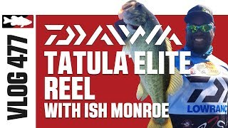 Ish Monroe on Lake of the Pines Fishing the New Daiwa Tatula Elite Casting Reel - TW VLOG #477