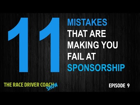 Episode 9 - 11 Mistakes That Are Making You Fail At Sponsorship