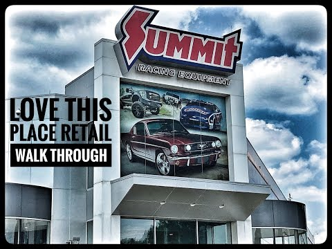 Summit Racing Equipment!  Check Out The Retail Store!