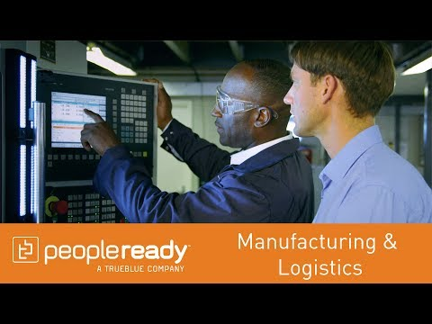 PeopleReady: Manufacturing & Logistics