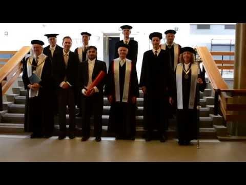 Ph.D. Degree awarding ceremony, Fahim Raees, TU Delft.
