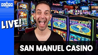 🔴$500 to Start! 💰Brian goes 'downtown' at @San Manuel Casino ✪ BCSlots