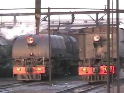 Zimbabwe - Busy Day on Bulawayo Steam Shed 2005