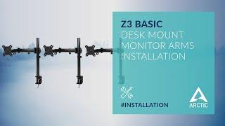 ARCTIC Z3 Basic Installation