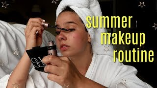 SUMMER MAKEUP ROUTINE