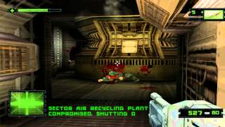 Alien Resurrection Walkthrough - Level 3 - Clone Research(Hard difficulty)