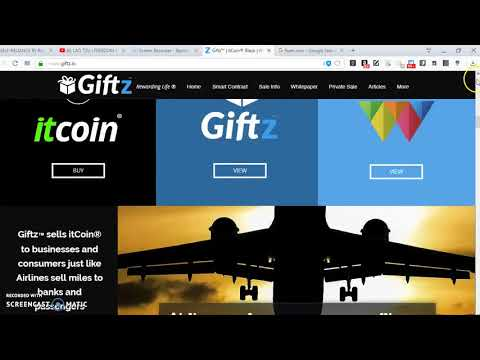 GIFTZ: top ico for 2018