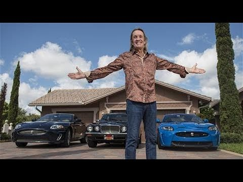 Hallowed Be Thy Car: Iron Maiden's Nicko McBrain Shows Off His Custom Jaguar