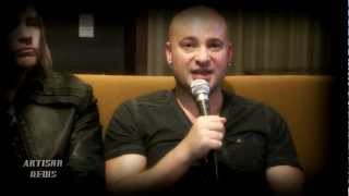 DISTURBED DRAIMAN NEW BAND DEVICE SPARKED BY UNDERWORLD