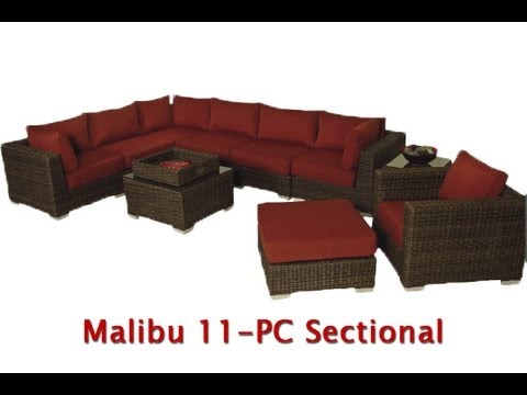 Patio Furniture In Los Angeles Wicker Sunbrella Fabric You
