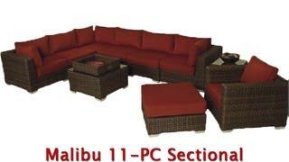 Patio Furniture In Los Angeles - Wicker Furniture - Sunbrella Fabric