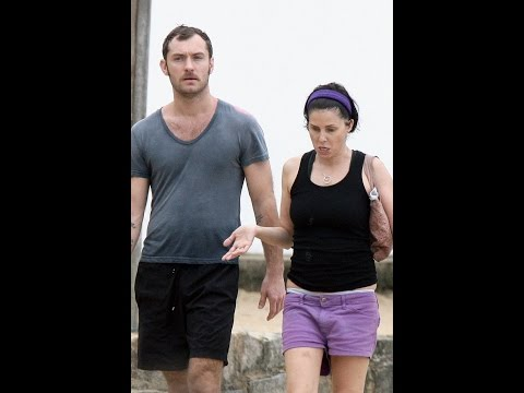 Jude Law & Wife Sadie Frost