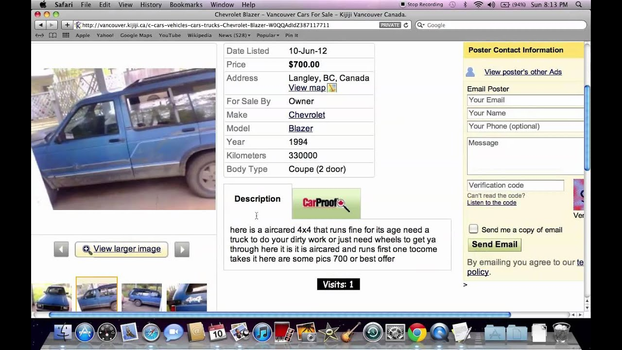 Kijiji Vancouver Used Cars For Sale Popular Models For Sale By