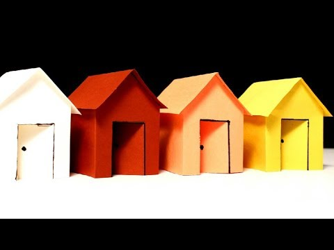 How To Make Colour Paper House Very Beautiful