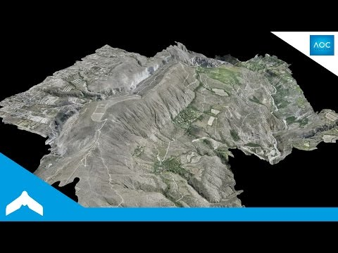 Flying The Guayllabamba Point Cloud - eBee Drone Data in 3D by AOC Ingeneria