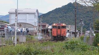 山口線キハ40系  山口到着・発車