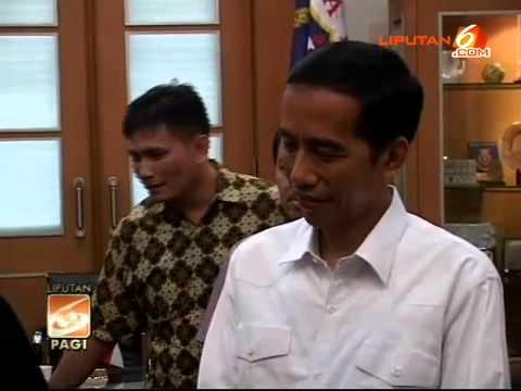 Saat Jokowi Berbahasa Jawa Dengan Dubes Suriname