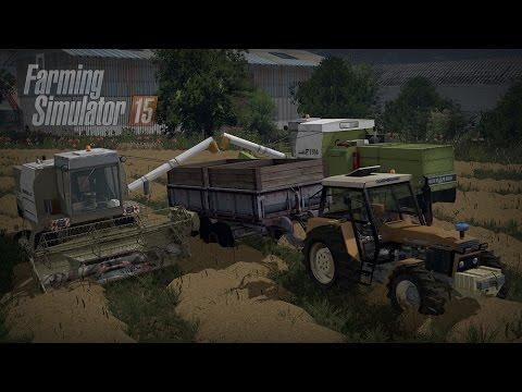 Gospodarstwo Rolne #1 ☆ Farming Simulator 15 Multiplayer - Slovakia Map ☆ Żniwa niczym w Mokrzynie ㋡