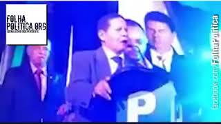 General Mourão faz discurso impactante ao aceitar ser vice de Bolsonaro