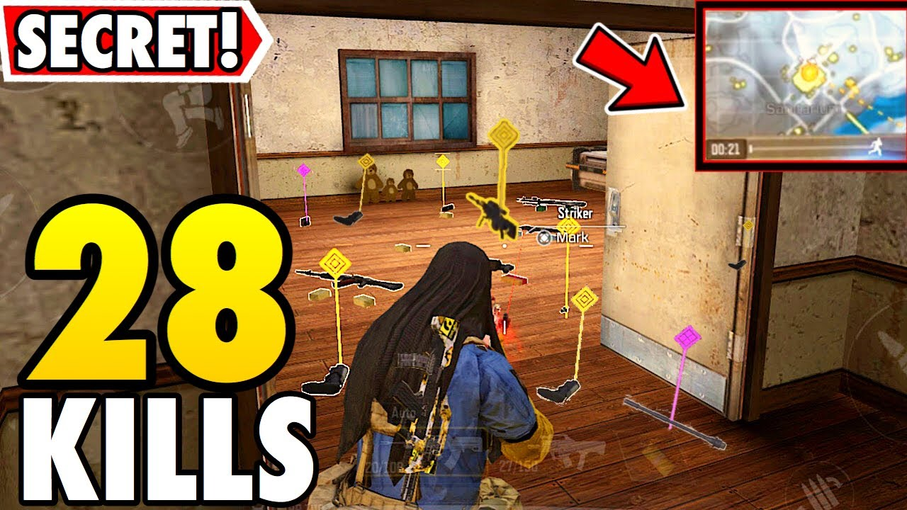 BEST LOOT LOCATION! | SECRET ROOM IN CALL OF DUTY MOBILE BATTLE ROYALE